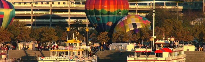 Balloons on the Riverfront